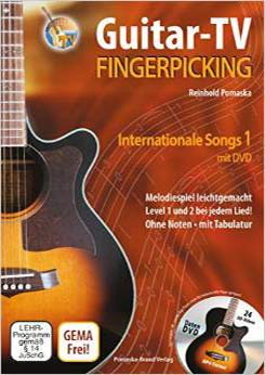 Fingerpicking - internationale Songs, Bd. 1
